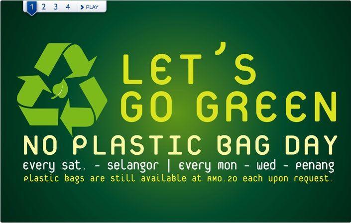 saturday no plastic bag